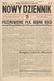 Nowy Dziennik. 1937, nr74