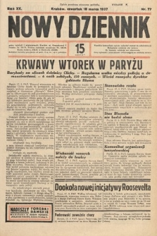 Nowy Dziennik. 1937, nr77