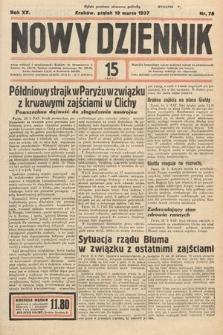 Nowy Dziennik. 1937, nr78