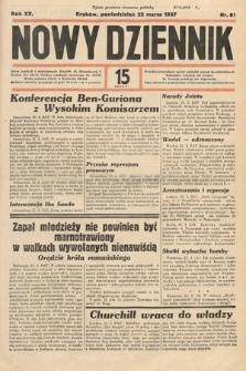 Nowy Dziennik. 1937, nr81