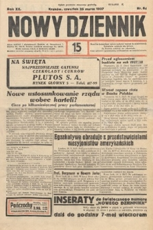 Nowy Dziennik. 1937, nr84