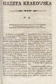 Gazeta Krakowska. 1800, nr88