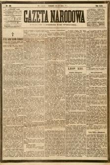 Gazeta Narodowa. 1903, nr166