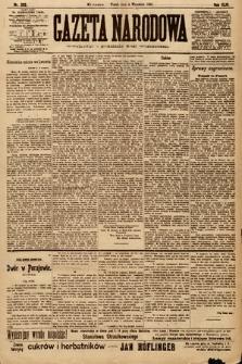Gazeta Narodowa. 1903, nr202