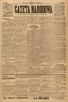 Gazeta Narodowa. 1903, nr204