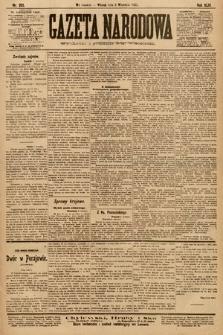 Gazeta Narodowa. 1903, nr205