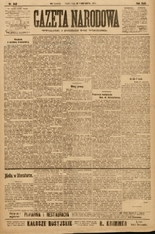 Gazeta Narodowa. 1903, nr242