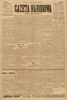 Gazeta Narodowa. 1903, nr258