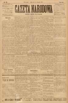 Gazeta Narodowa. 1903, nr261