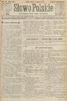 Słowo Polskie. 1921, nr116