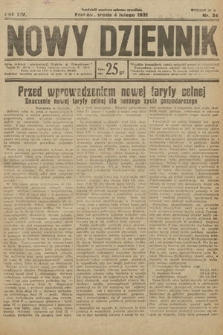 Nowy Dziennik. 1931, nr34