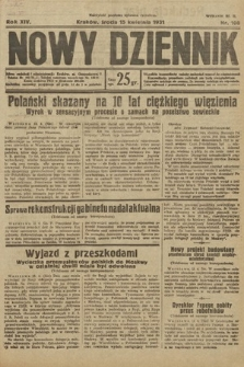 Nowy Dziennik. 1931, nr100