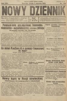 Nowy Dziennik. 1931, nr209
