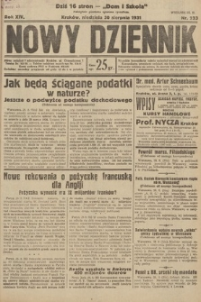 Nowy Dziennik. 1931, nr233