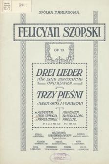 Drei Lieder : für eine Singstimme und Klavier. Op. 13 [nr 2], Der Spiegel