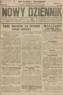Nowy Dziennik. 1931, nr240