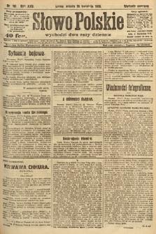 Słowo Polskie. 1920, nr191