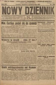 Nowy Dziennik. 1931, nr268