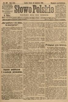 Słowo Polskie. 1920, nr287